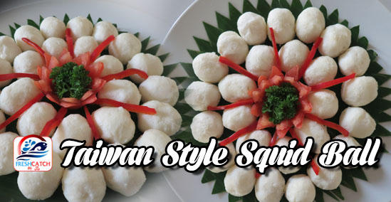 Taiwan Style Squid Ball