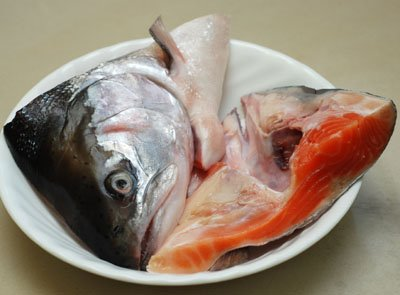 how to preserve a fish head